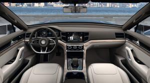 Volkswagen CrossBlue Armaturenbrett