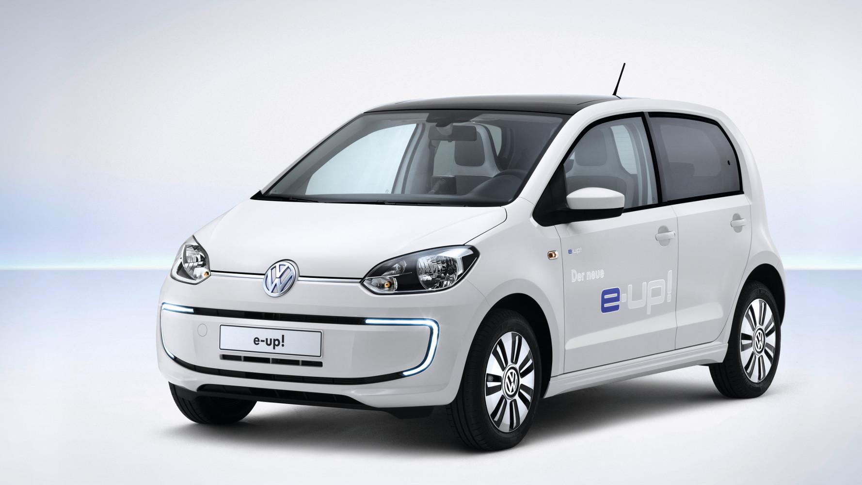 VW e-up! Preis ab 26.900 Euro, 160 km Reichweite