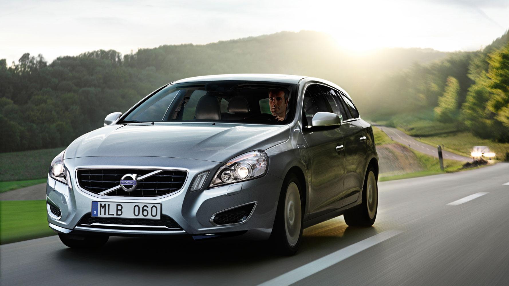 Volvo V60 Hybrid sicherstes Auto mit E-Antrieb