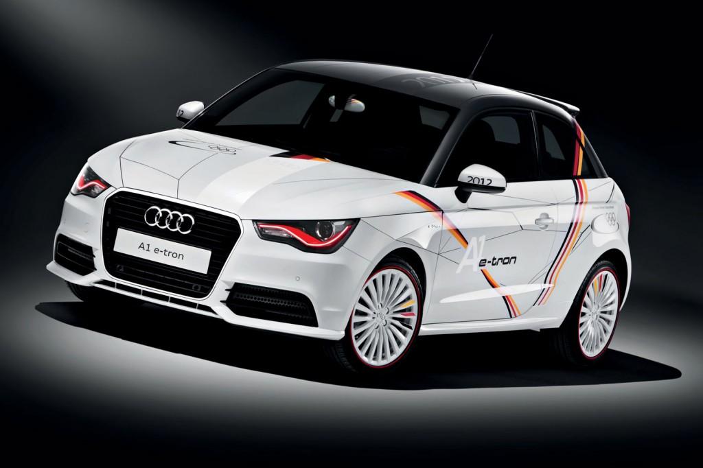 Audi A1 e-tron Olympia London