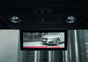 Audi R8 e-tron - digitaler Innenspiegel