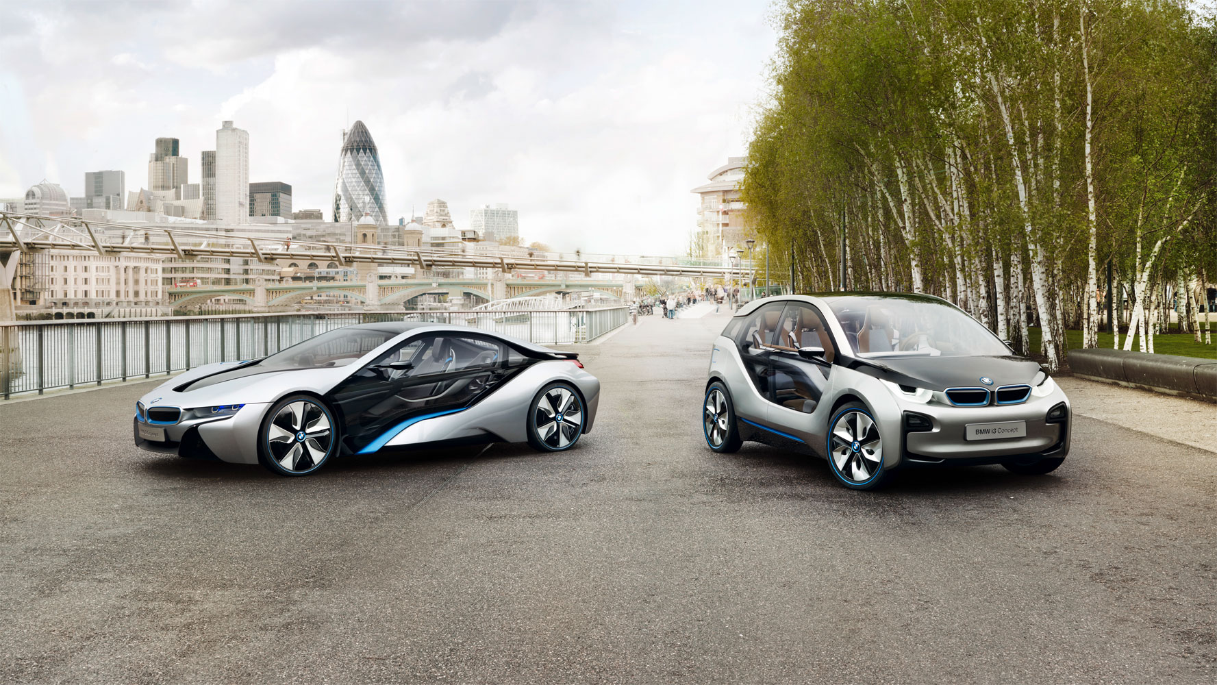 BMW i Born Electric Tour macht Halt in Düsseldorf