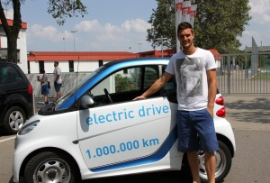 car2go Stuttgart feiert eine Million elektrische Kilometer