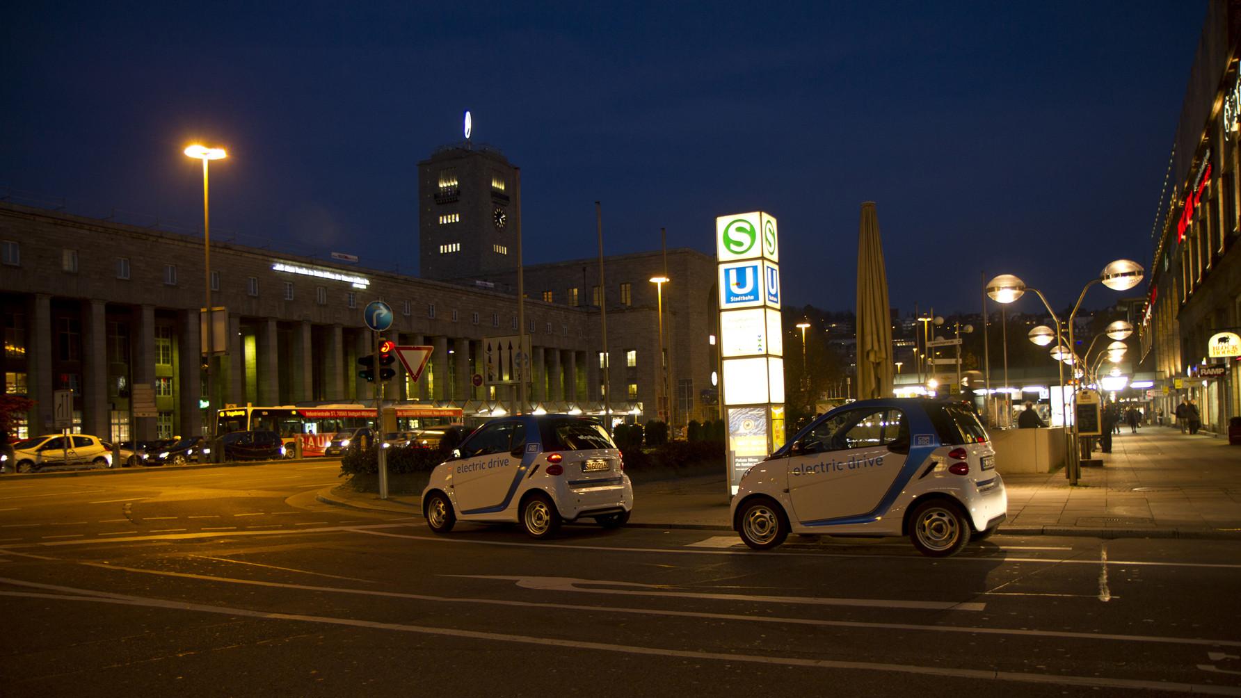 car2go Stuttgart zieht positive Startbilanz