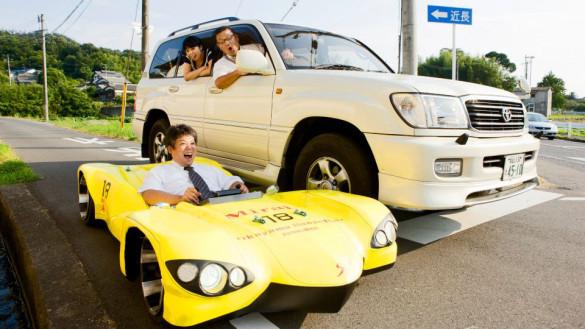 Elektroauto Mirai ist flachstes Auto der Welt