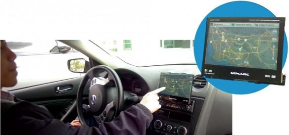 Elektroauto Navigation