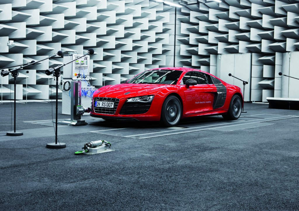 Der e-Sound von Audi