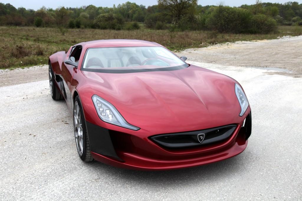 Technische Details Rimac Concept One [Video] | Elektroauto ...