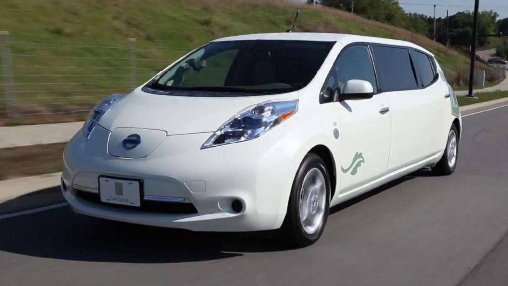 nissan leaf stretch-limousine bei ebay | elektroauto blog