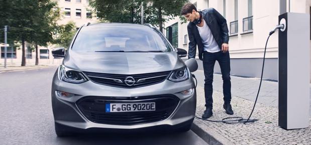 Opel-Ladekarte von NewMotion
