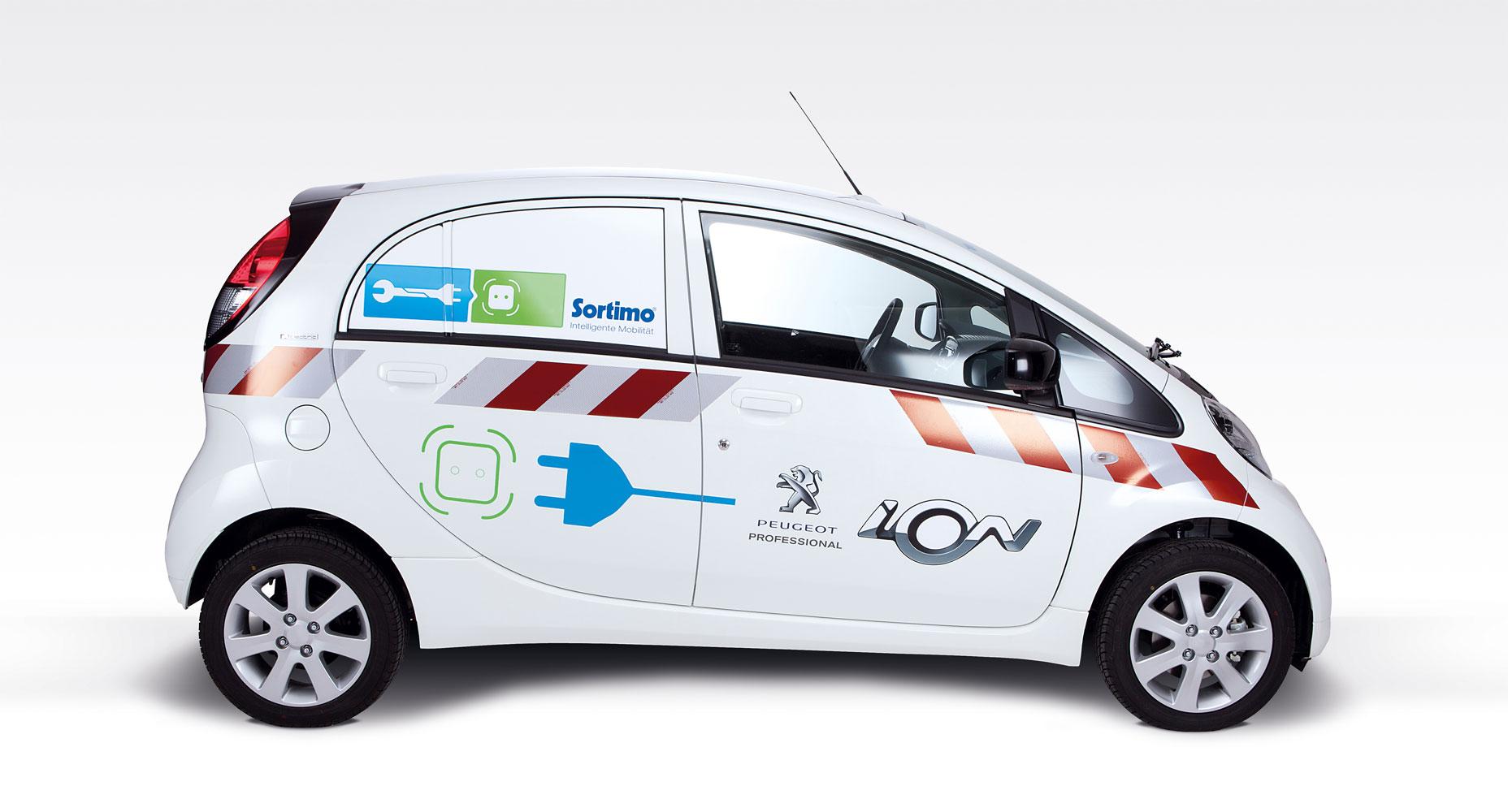 Peugeot iOn Cargo auf der IAA