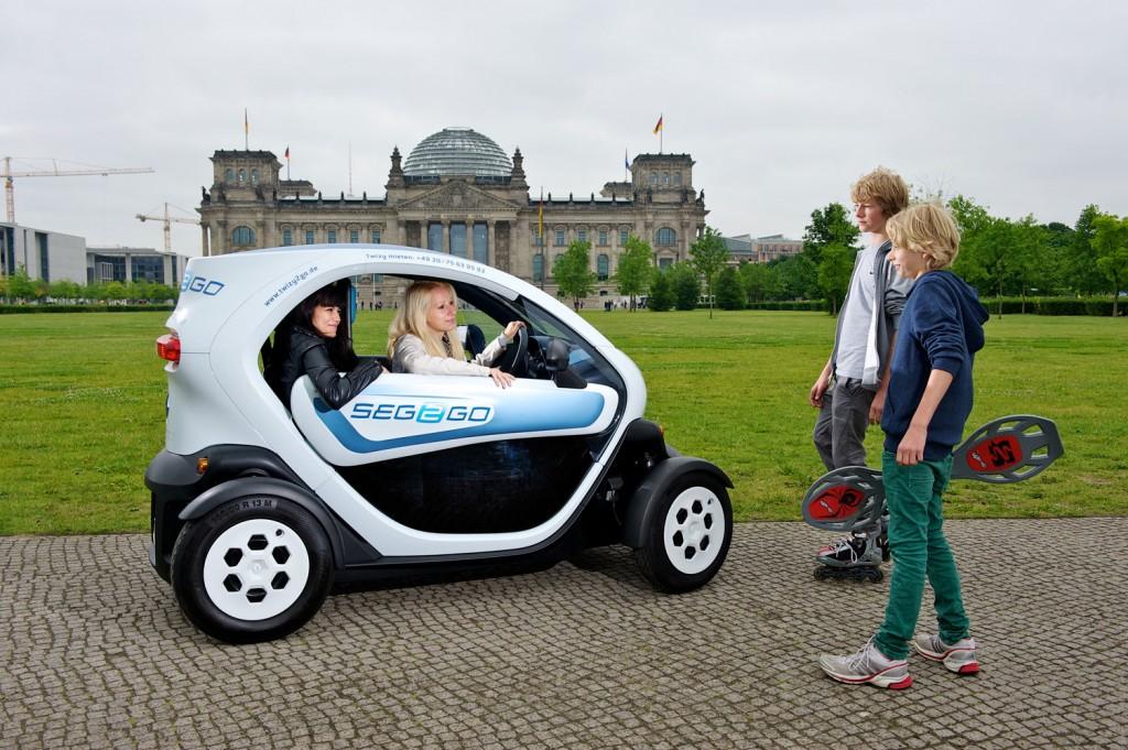Renault Twizy in Berlin mieten