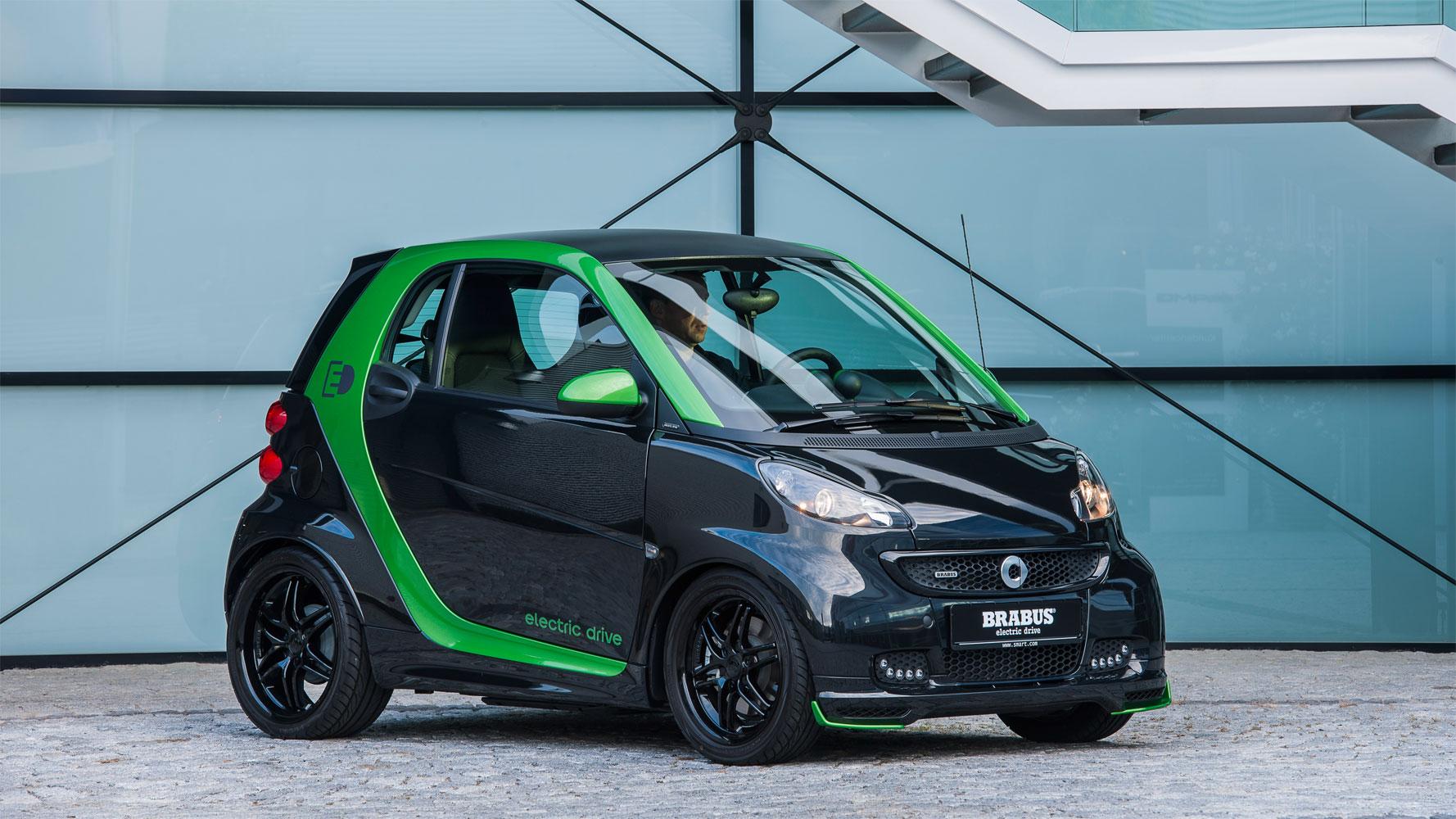 smart BRABUS electric drive – Autosalon Paris