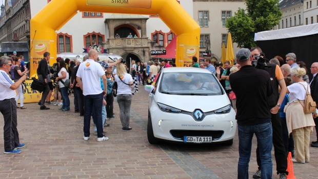 Start der WAVE 2015 in Plauen