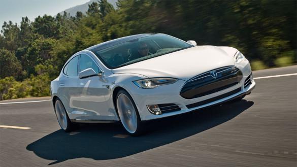 Tesla Model S hat einen Markteinteil von 8,4 Prozent im Luxussegment