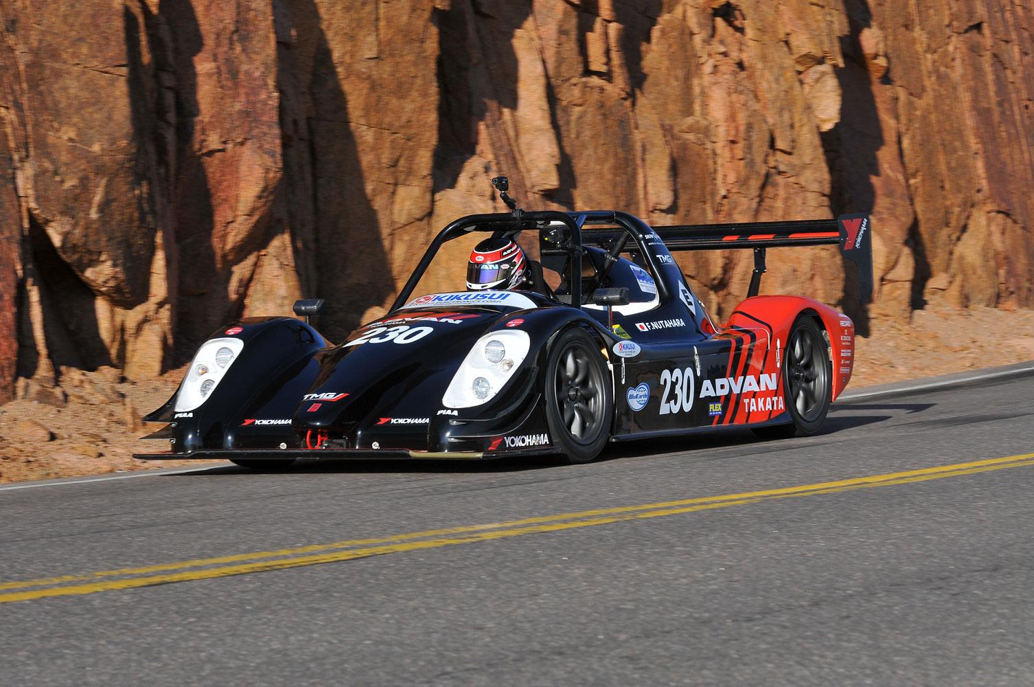 Toyota mit Elektroauto Rekord am Pikes Peak 2012