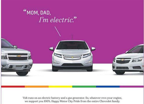 Chevy Volt - Mom, Dad, I'm electric