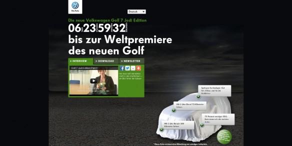 Volkswagen Golf 7 Jedi Edition